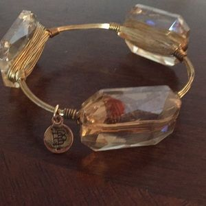 Bourbon and bowties bangle bracelet